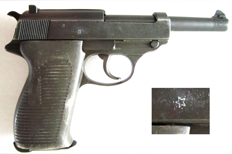 French Mauser P38 star