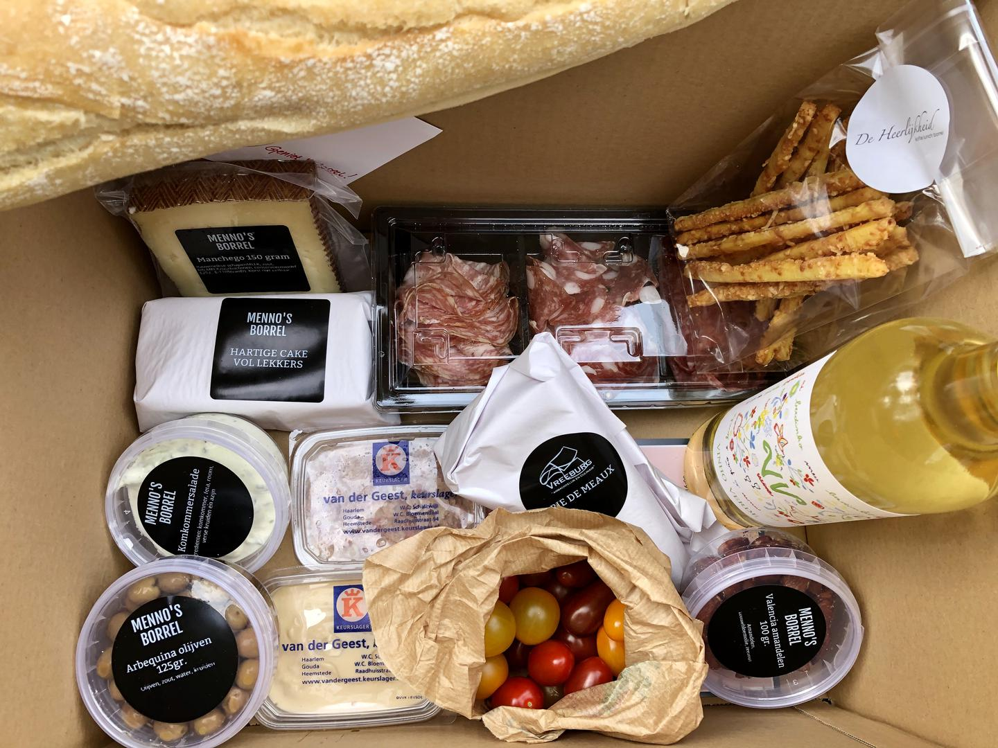 KWF borrel FOODBOX