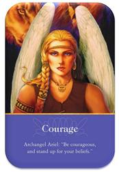 angel of courage