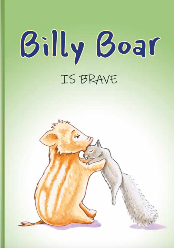 Billy Boar is brave