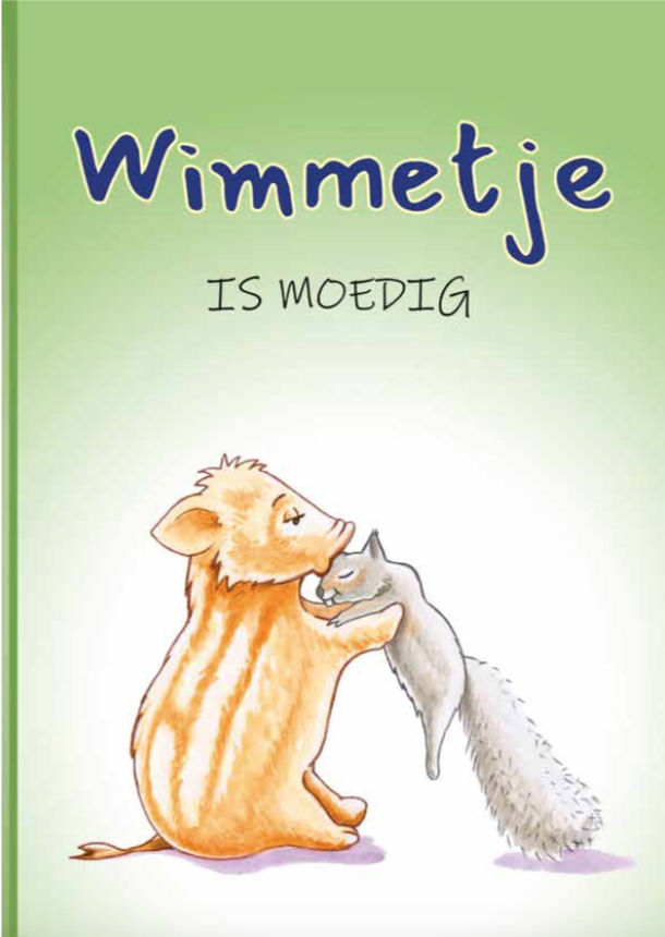 Wimmetje is moedig