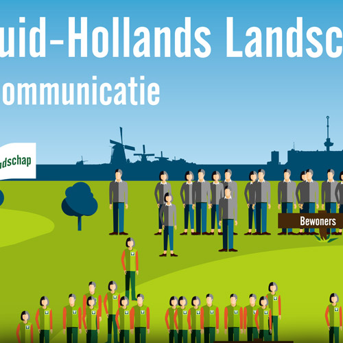 Infographic Zuid-Hollands Landschap | (c) Ivo van Sluis