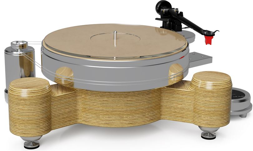 Acoustic Solid Solid Wood Round / My-Fi