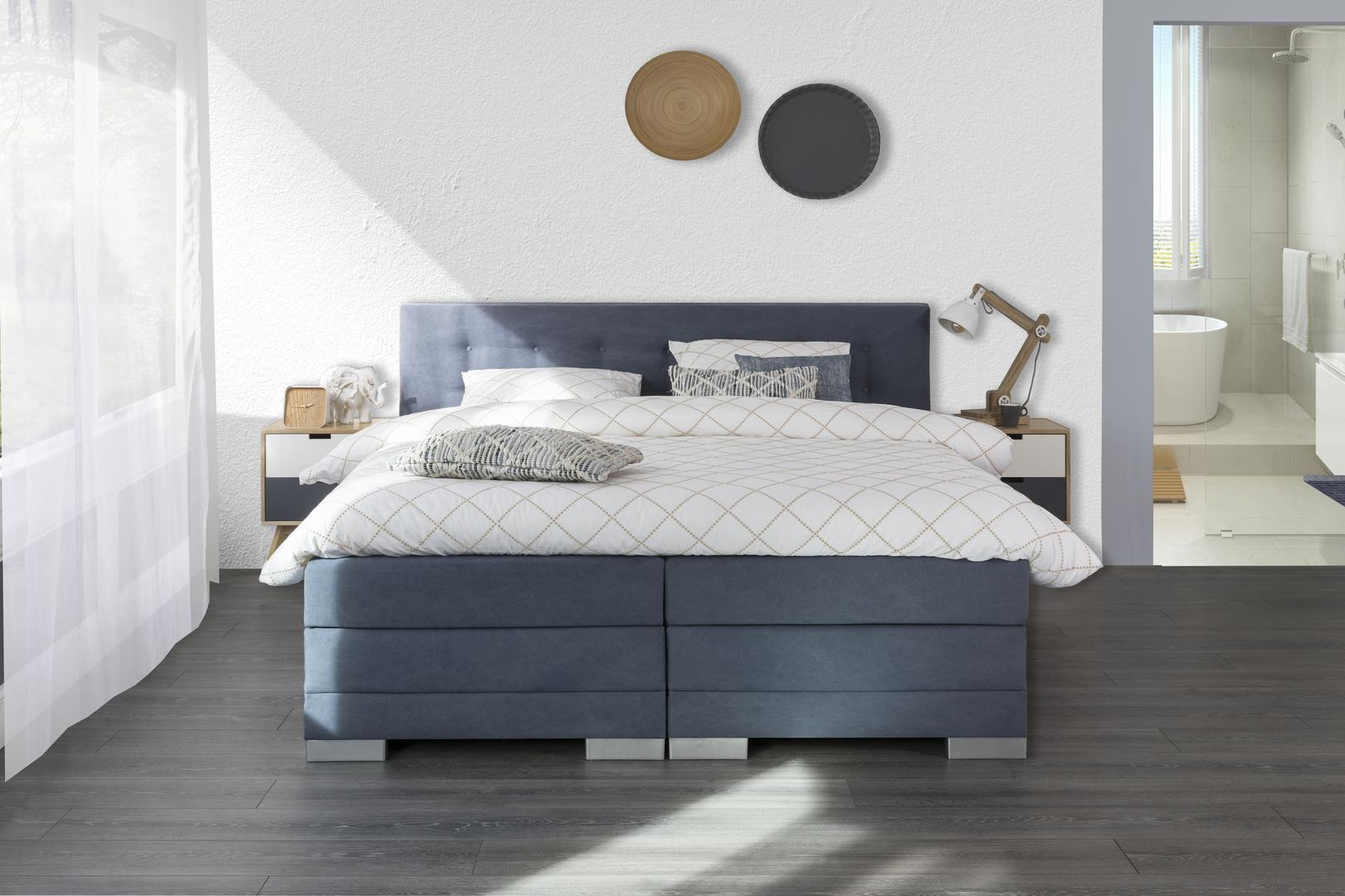 Stijl boxspring Knopen