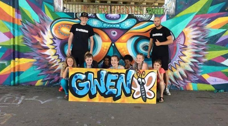 Graffitifun graffiti workshops company or kids party