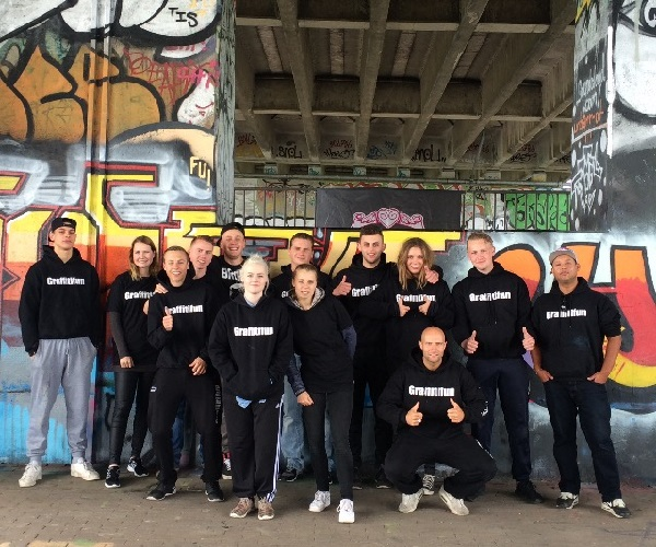 Graffitifun team graffiti artiesten Amsterdam
