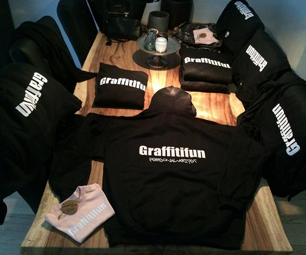 Graffitifun sweaters en t-shirts