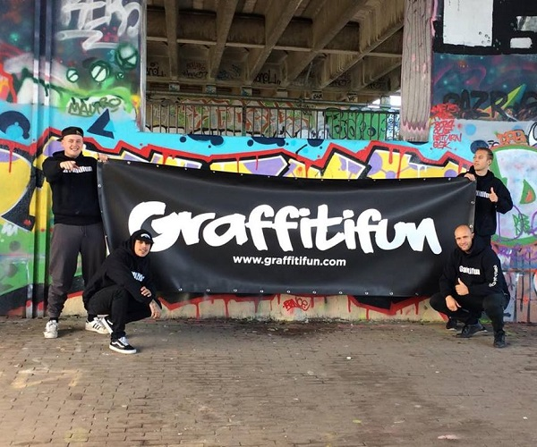 Graffiti workshops in Amsterdam Michel Steers