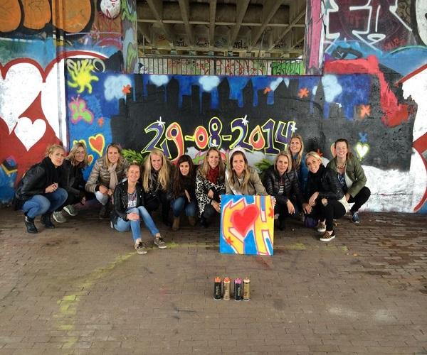 graffiti workshop vrienden