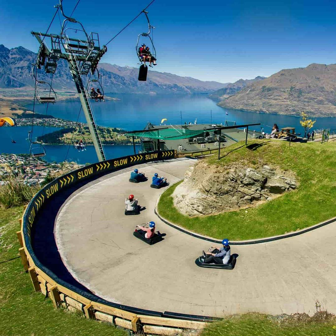 Downhill karten in Queenstown | Kaaiman Reizen