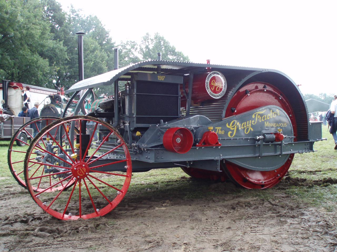 The Gray Tractor
