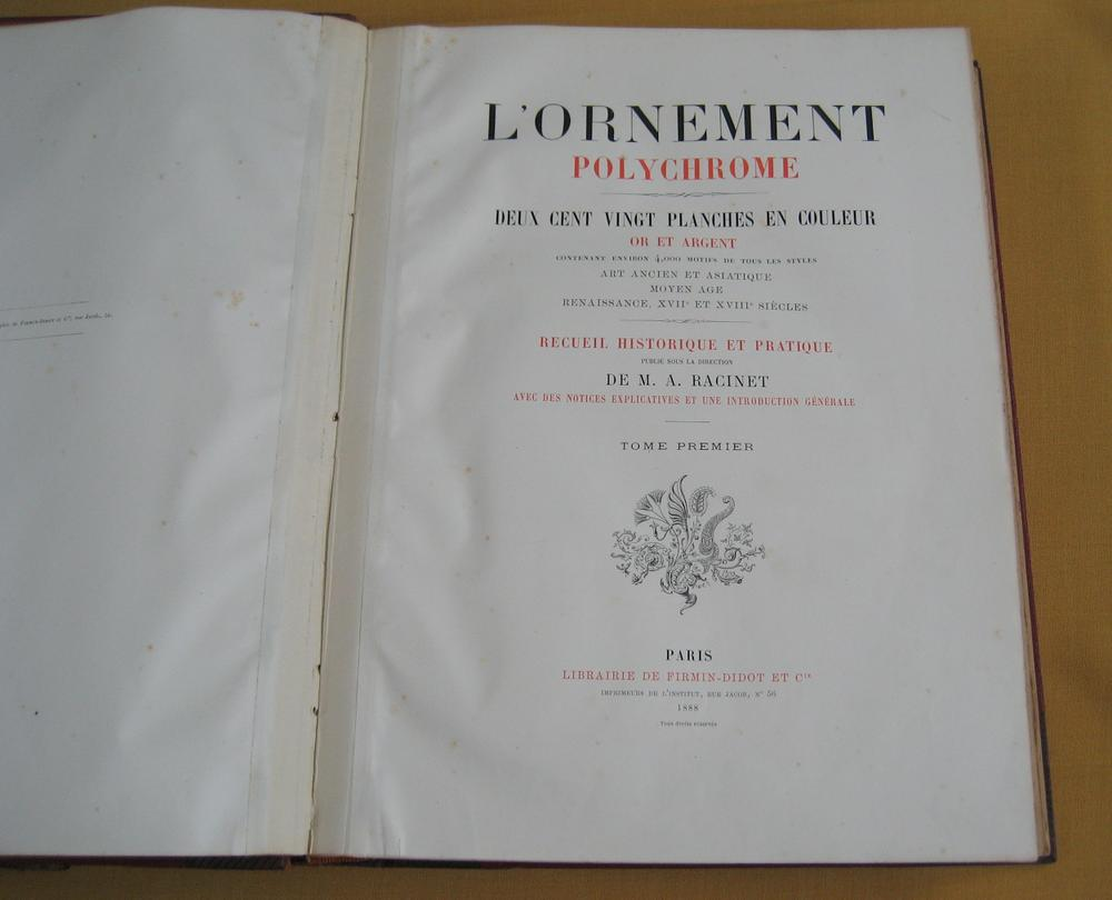 Racinet l'Ornement Polychrome 122-2